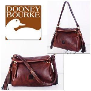 Dooney & Bourke Small Florentine ZIP Top Satchel